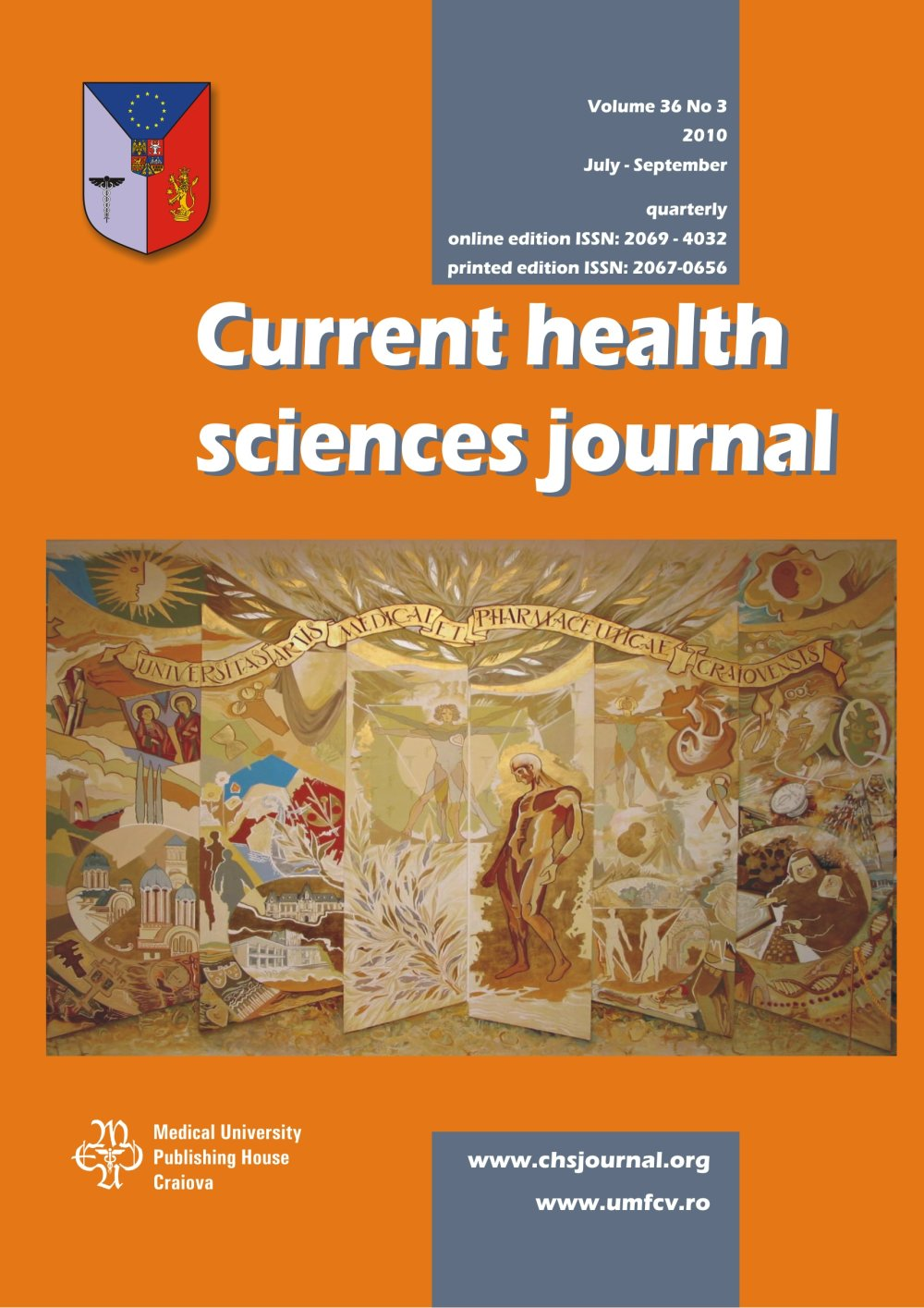 Current Health Sciences Journal, vol. 36 no. 3, 2010