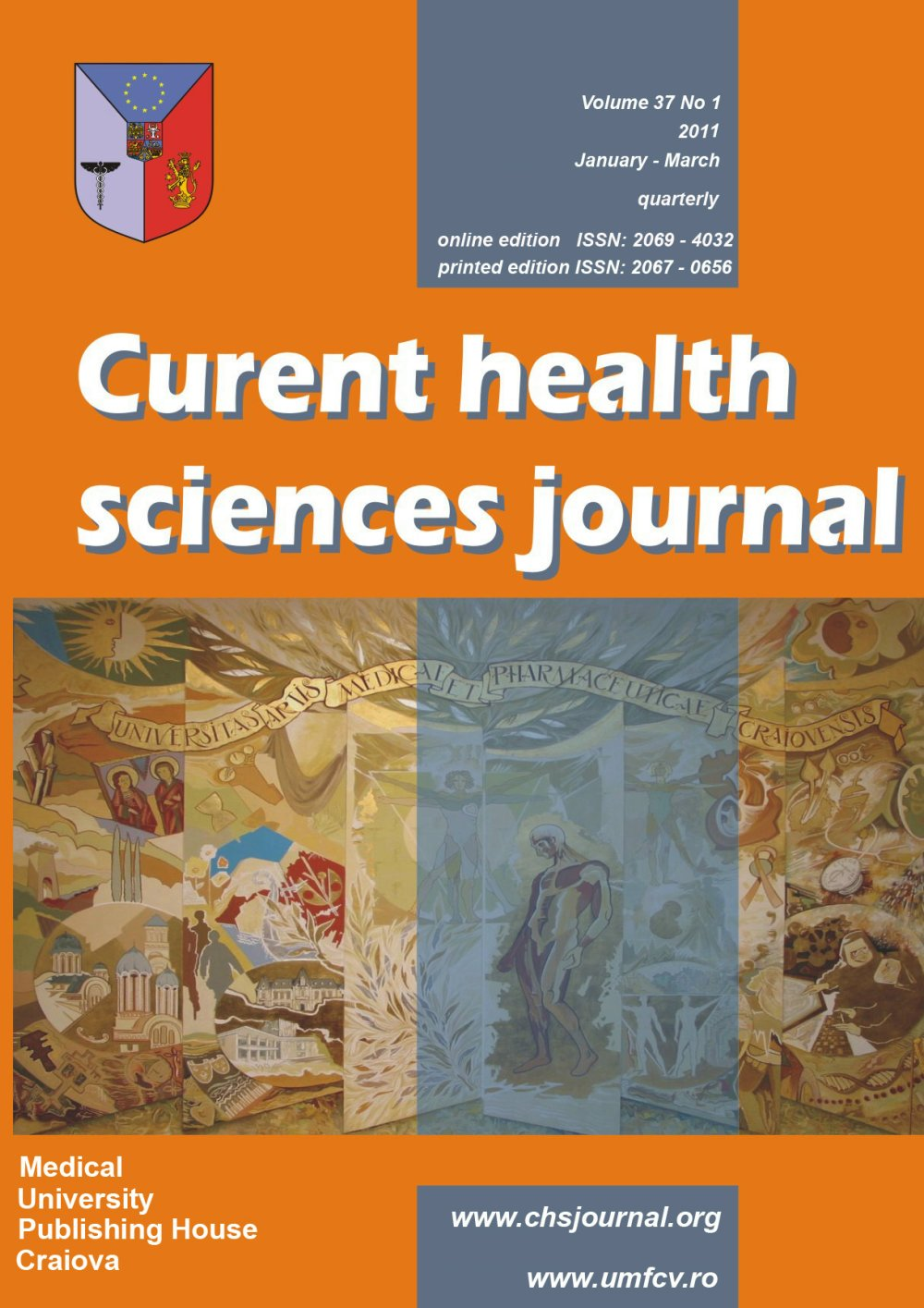 Current Health Sciences Journal, vol. 37 no. 1, 2011