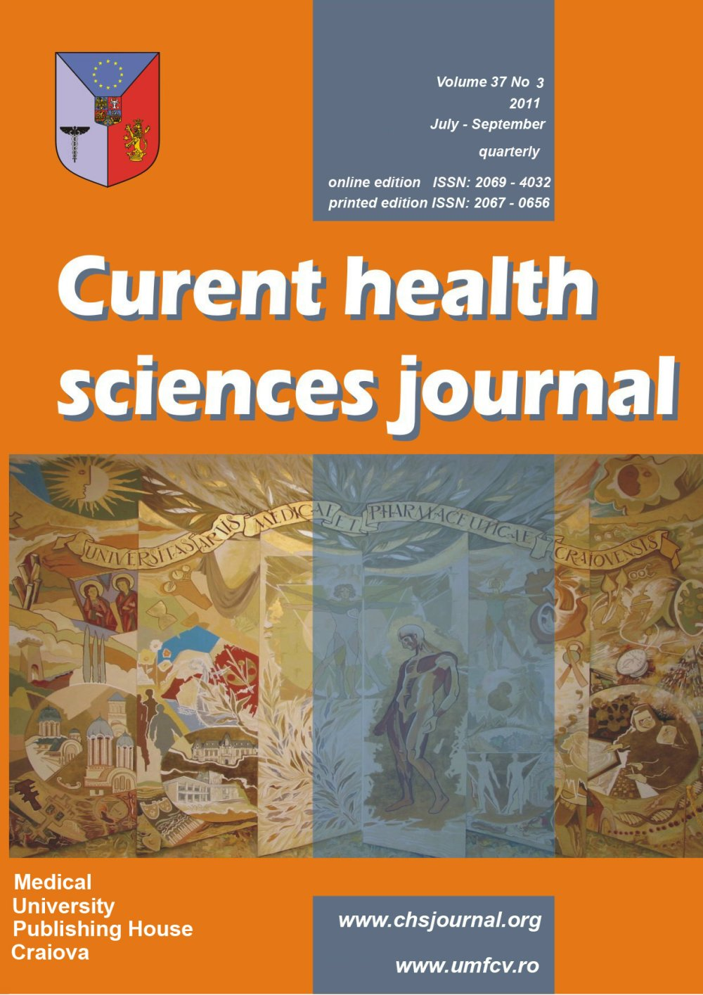 Current Health Sciences Journal, vol. 37 no. 3, 2011