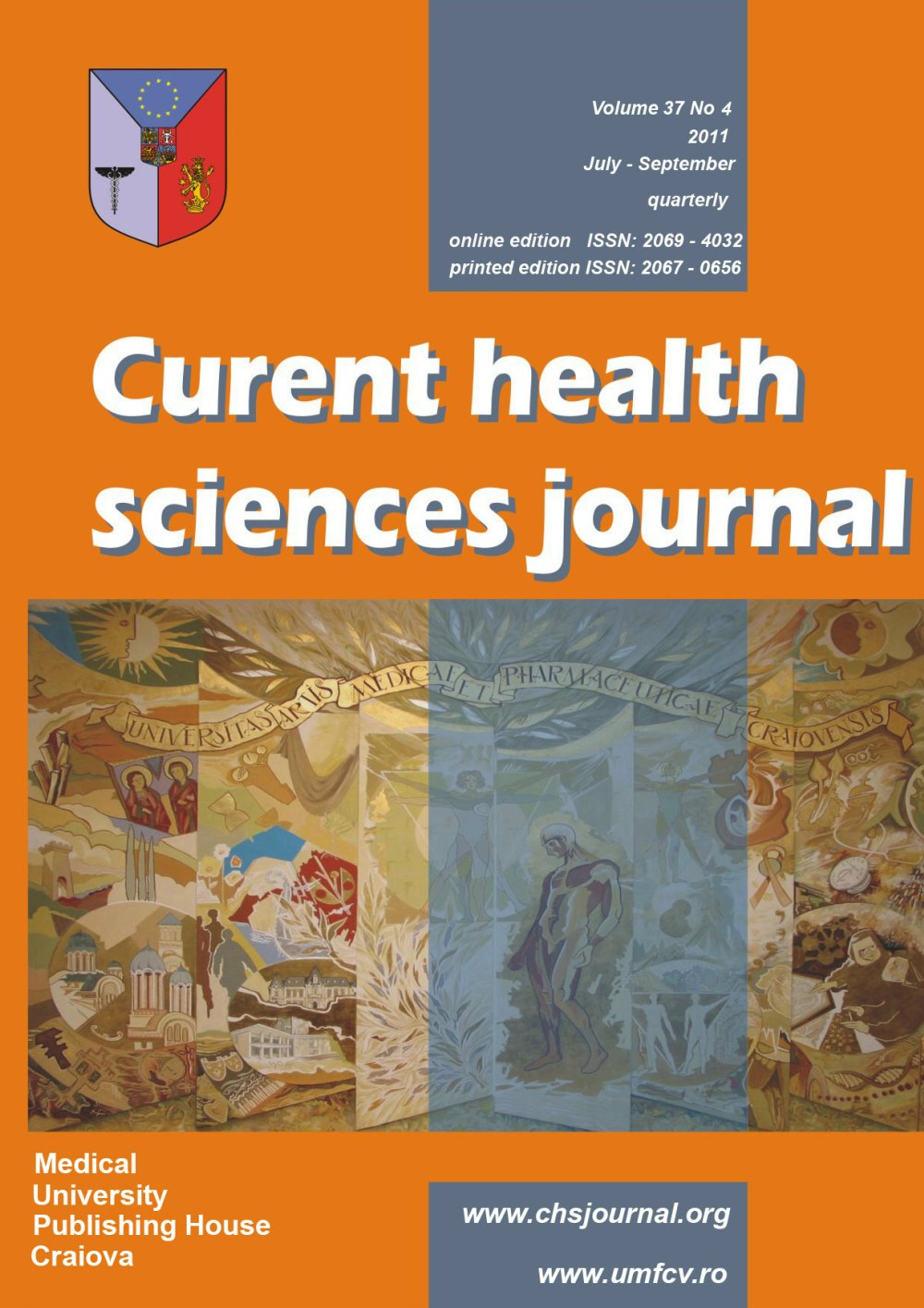 Current Health Sciences Journal, vol. 37 no. 4, 2011