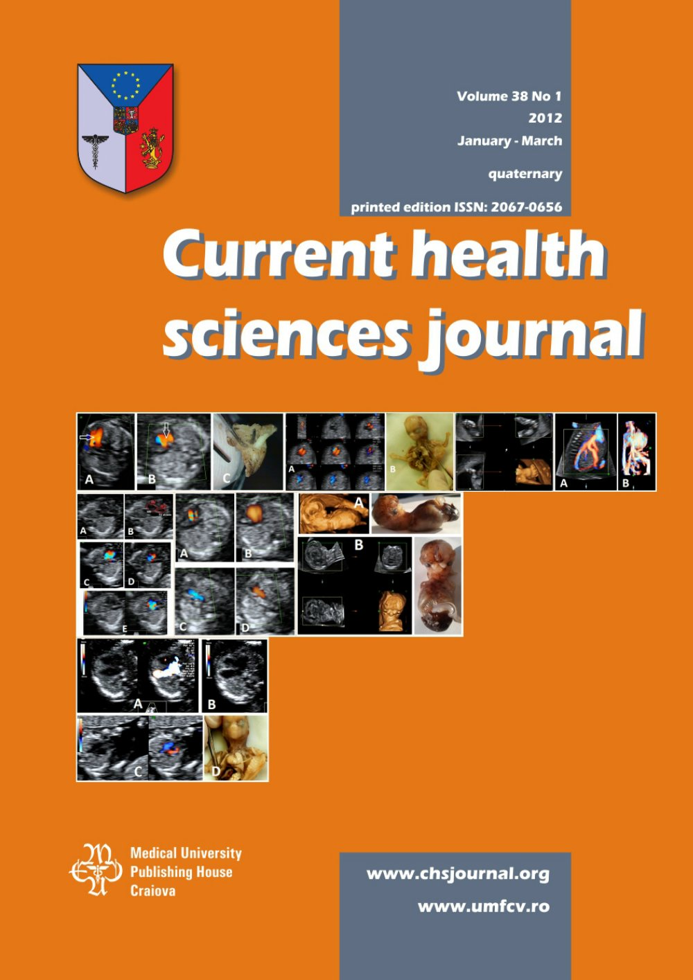 Current Health Sciences Journal, vol. 38 no. 1, 2012