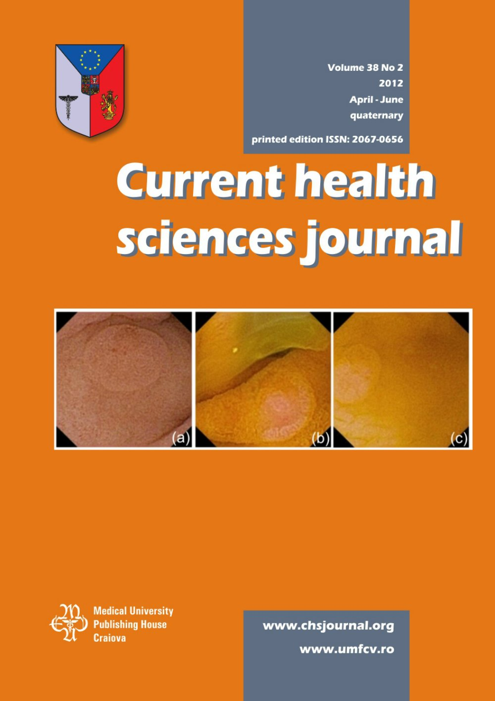 Current Health Sciences Journal, vol. 38 no. 2, 2012
