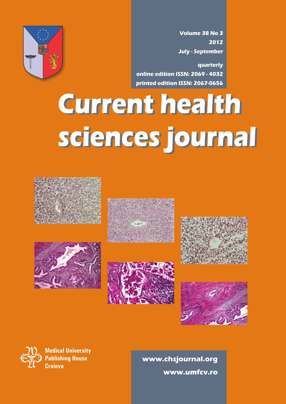 Current Health Sciences Journal, vol. 38 no. 3, 2012