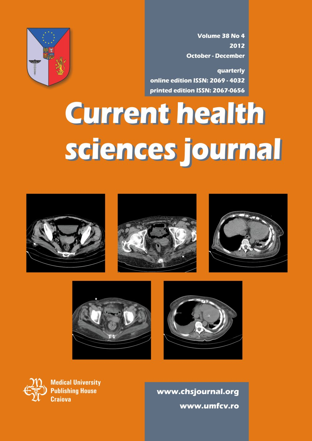Current Health Sciences Journal, vol. 38 no. 4, 2012