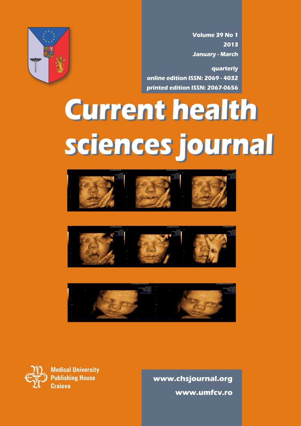Current Health Sciences Journal, vol. 39 no. 1, 2013