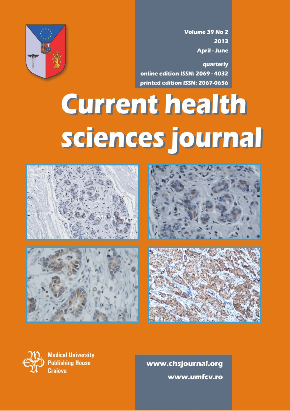 Current Health Sciences Journal, vol. 39 no. 2, 2013