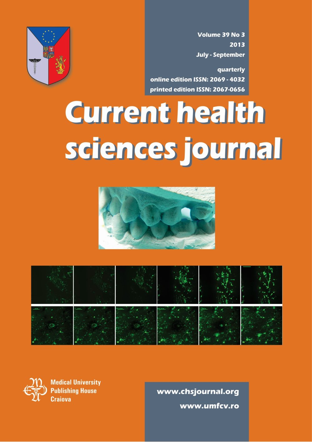Current Health Sciences Journal, vol. 39 no. 3, 2013