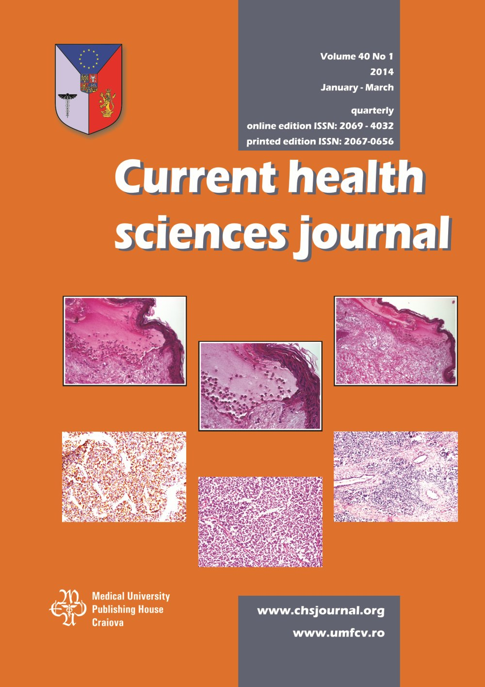 Current Health Sciences Journal, vol. 40 no. 1, 2014