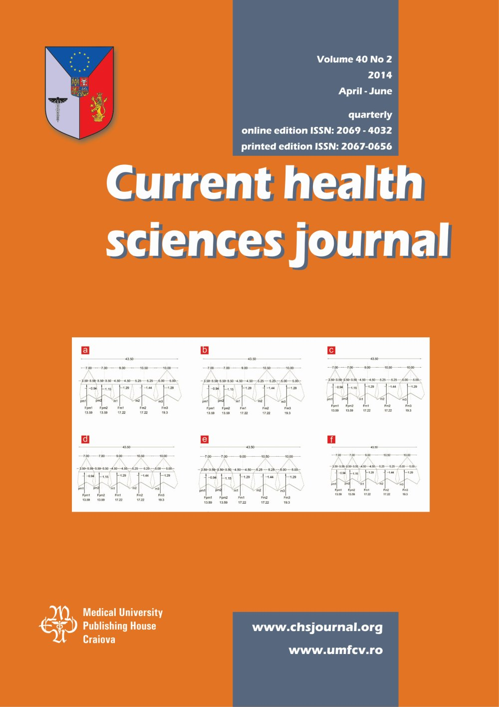 Current Health Sciences Journal, vol. 40 no. 2, 2014