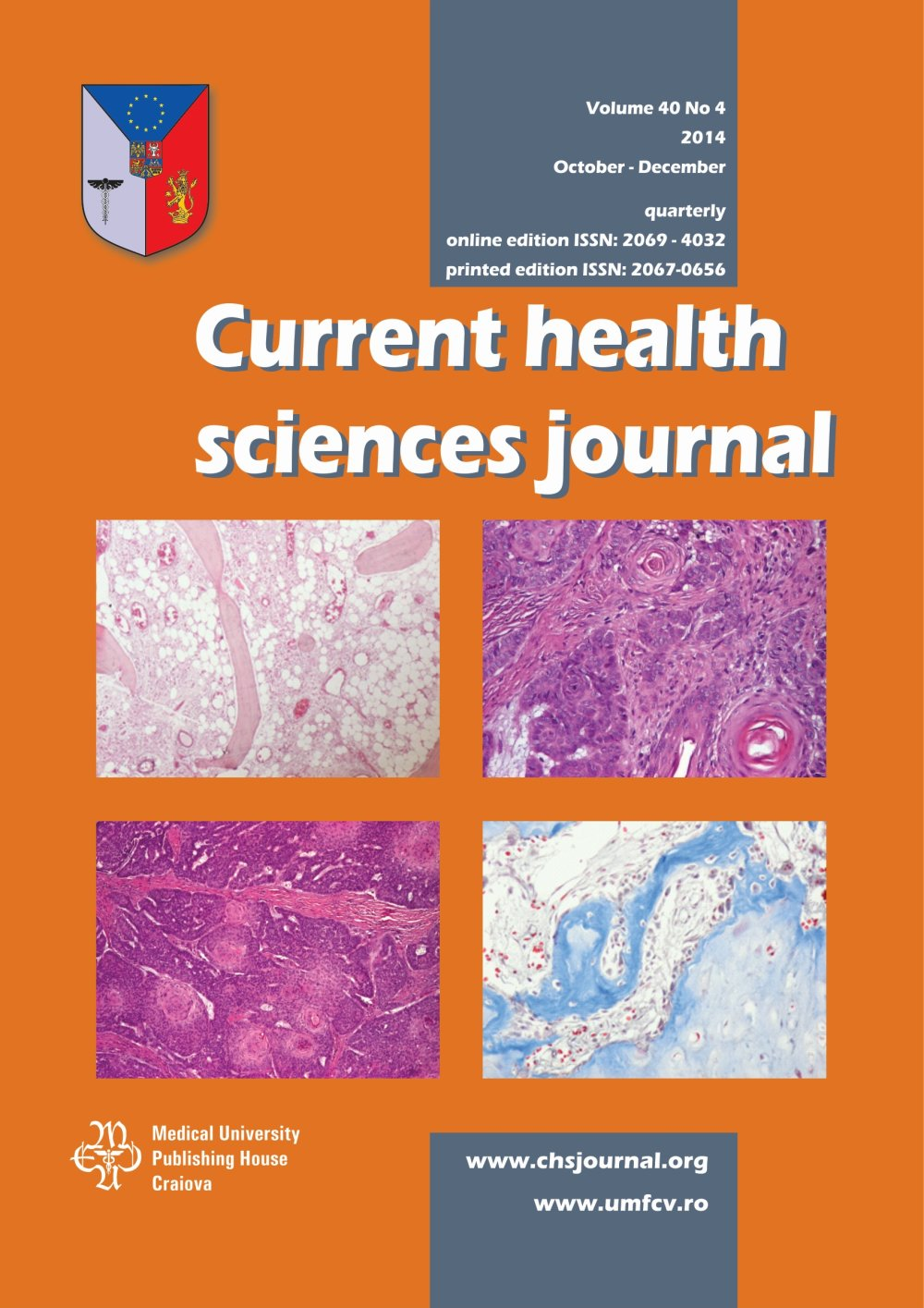 Current Health Sciences Journal, vol. 40 no. 4, 2014