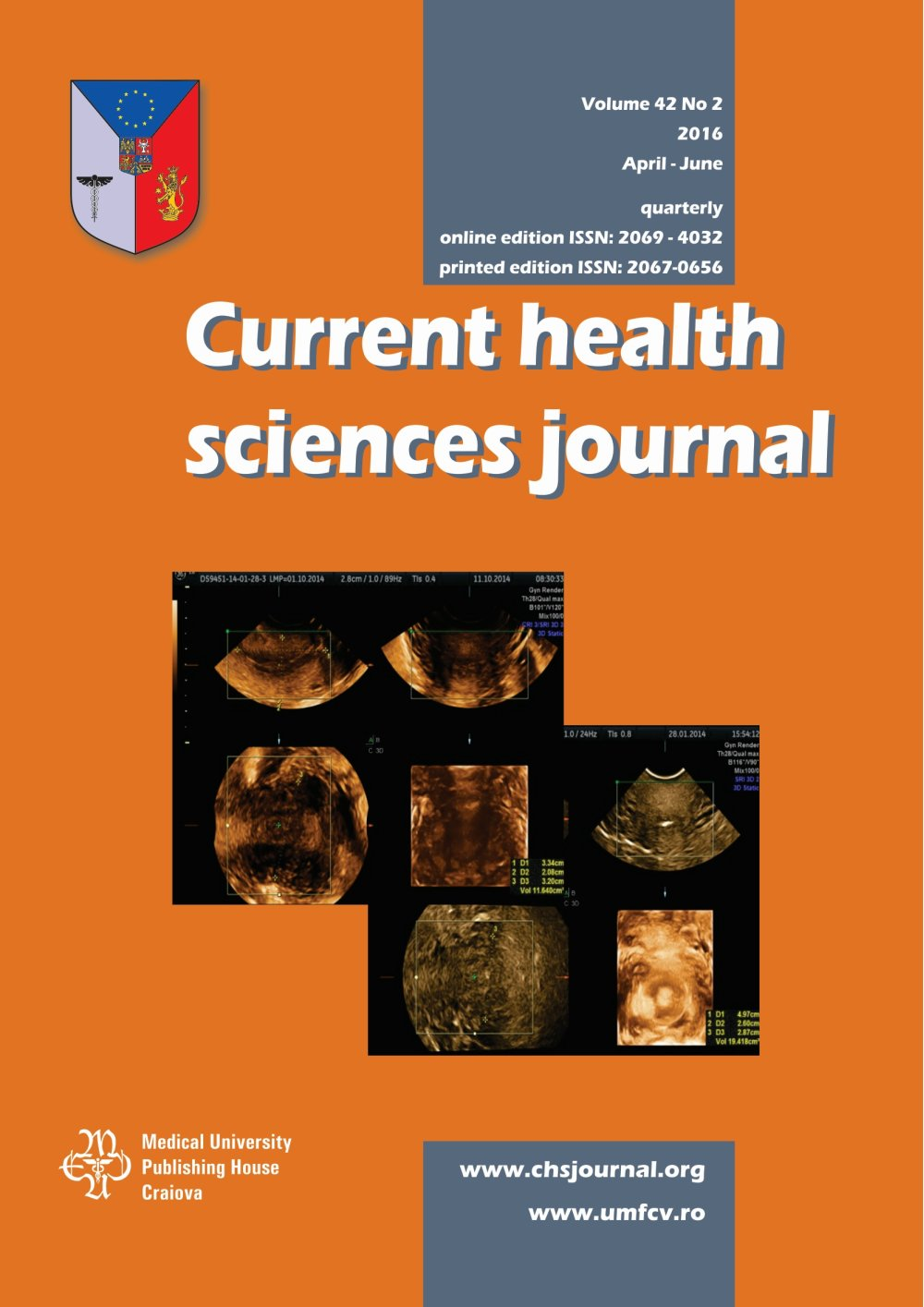 Current Health Sciences Journal, vol. 42 no. 2, 2016