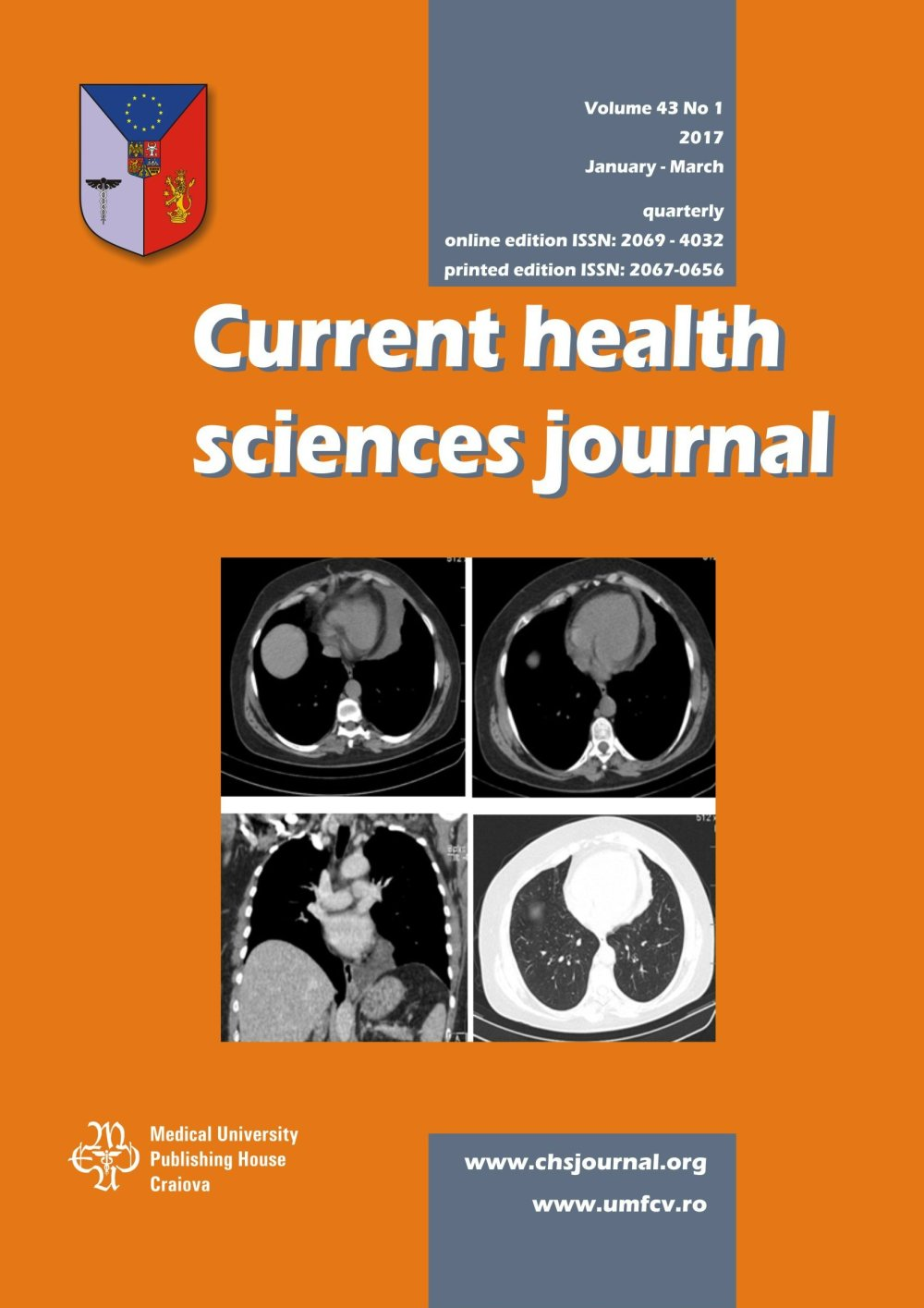Current Health Sciences Journal, vol. 43 no. 1, 2017