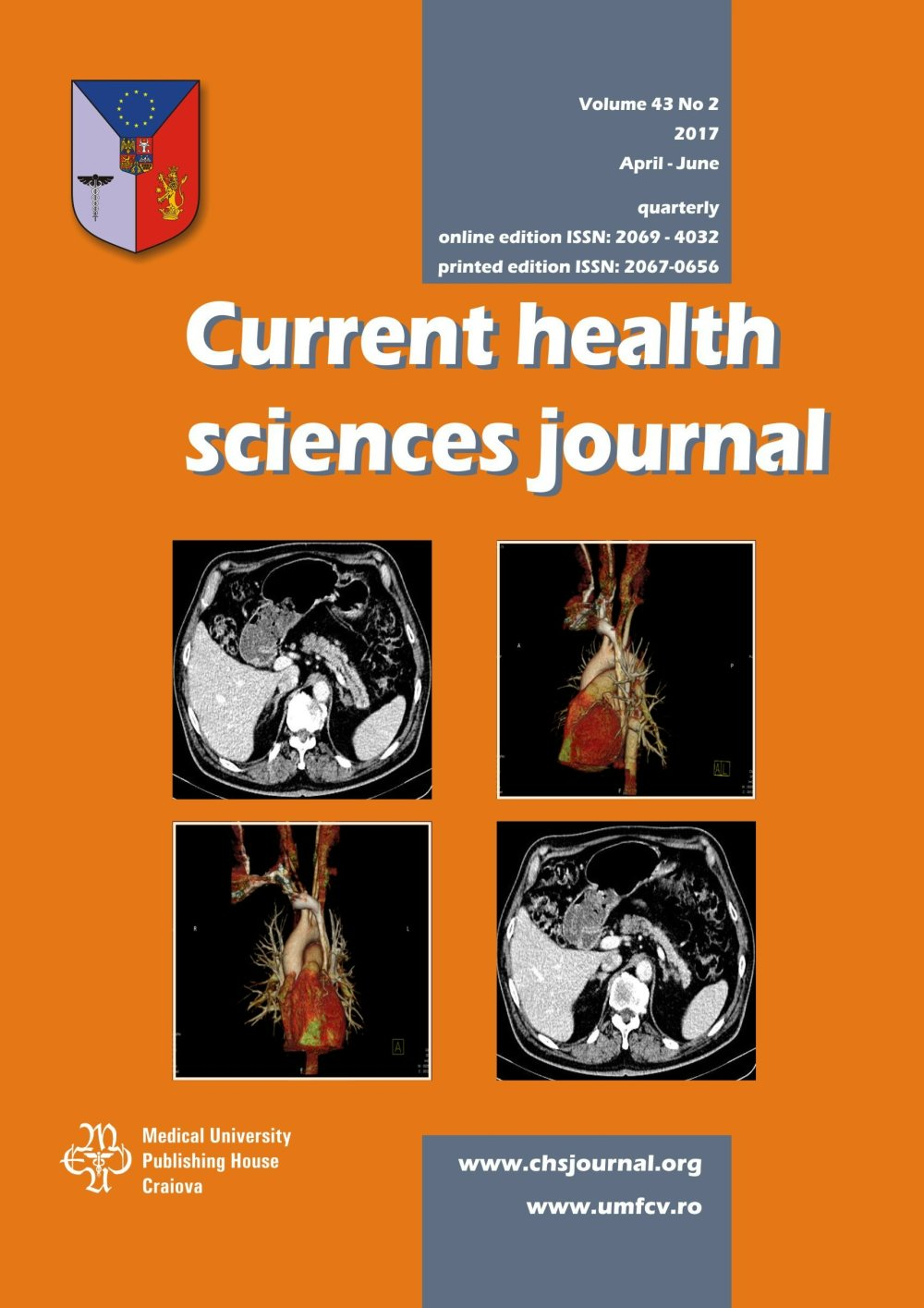 Current Health Sciences Journal, vol. 43 no. 2, 2017