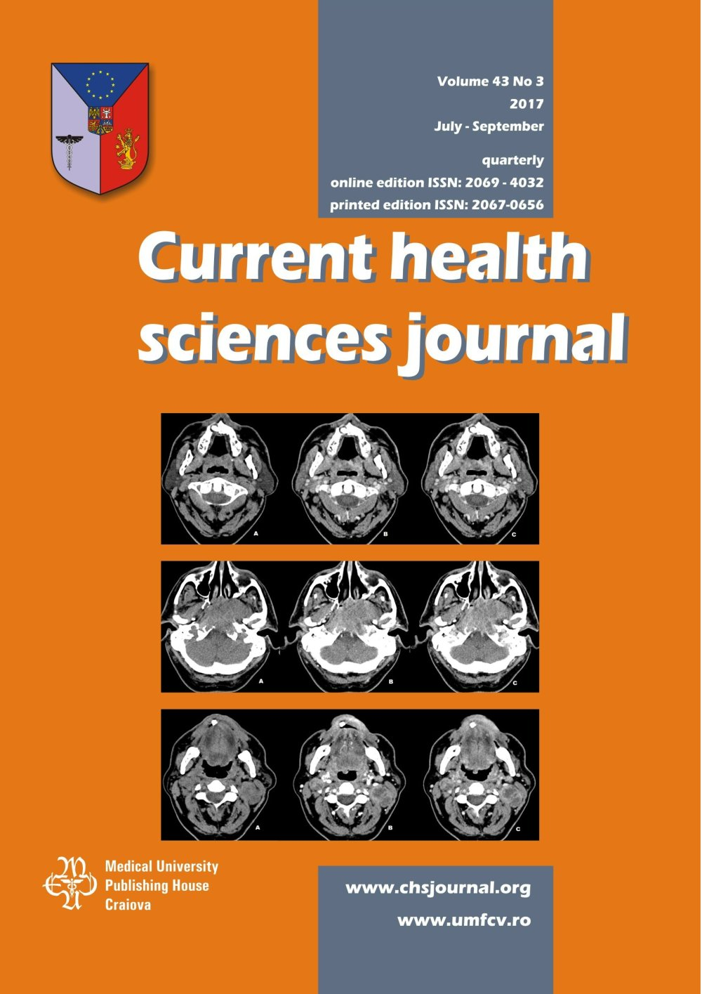 Current Health Sciences Journal, vol. 43 no. 3, 2017