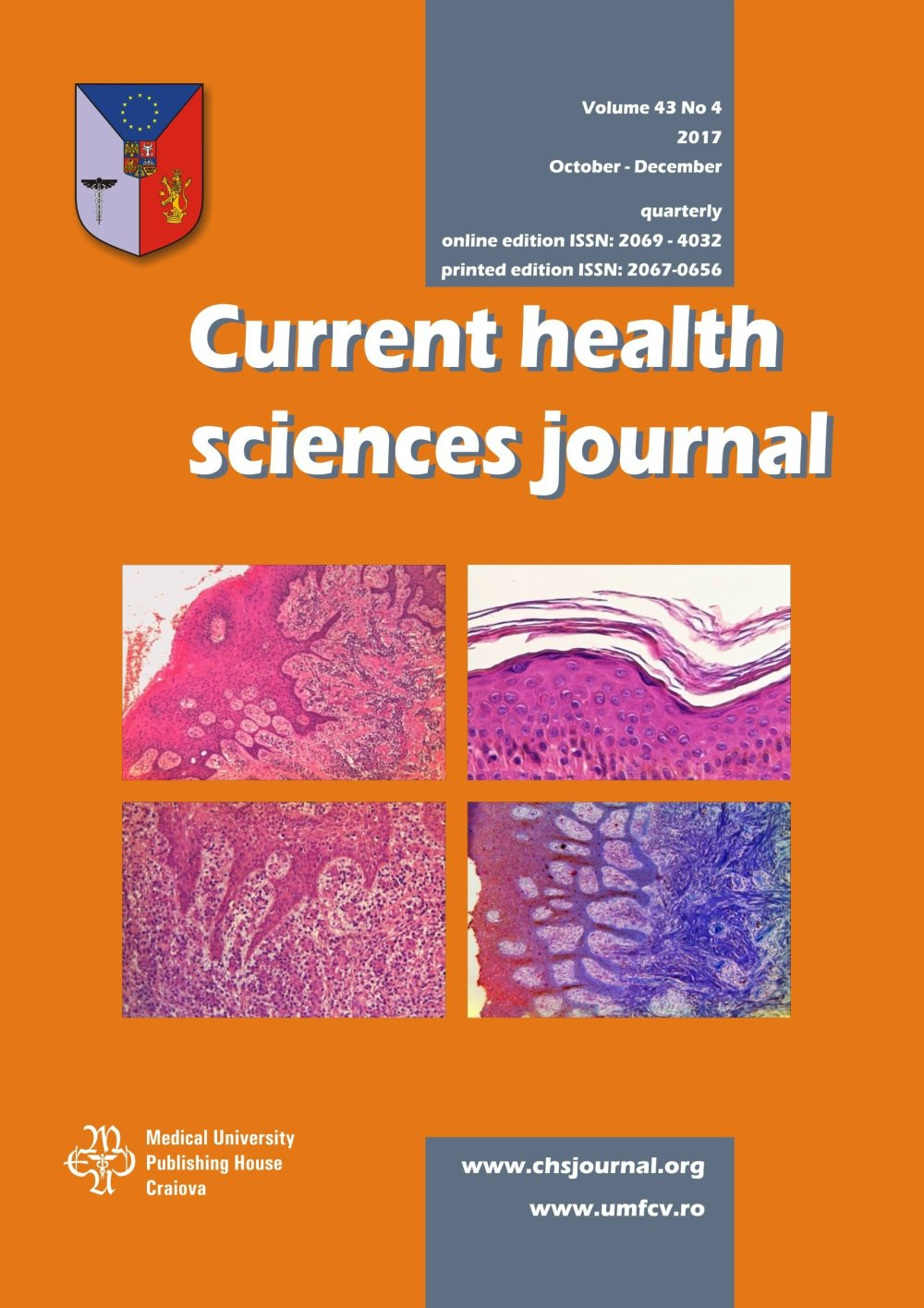 Current Health Sciences Journal, vol. 43 no. 4, 2017