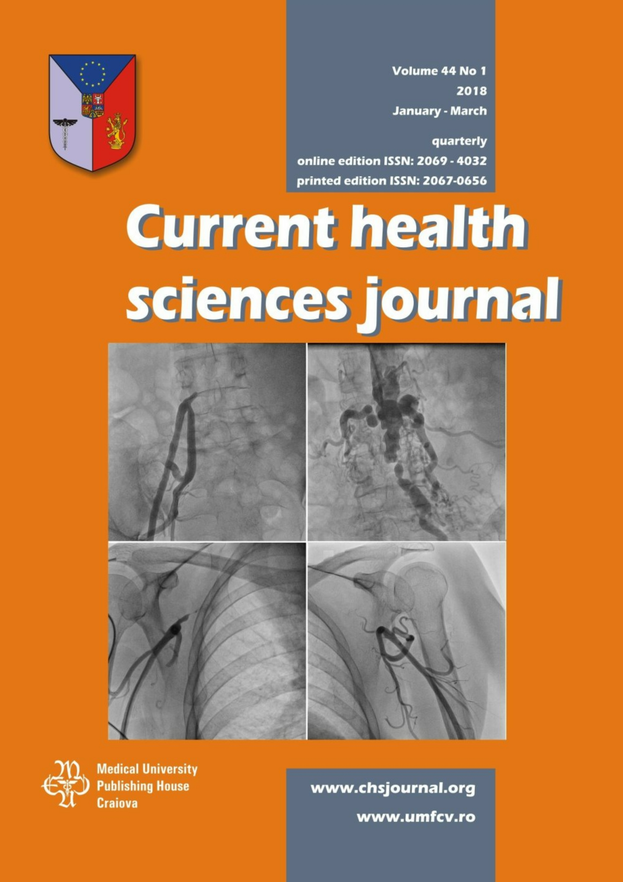 Current Health Sciences Journal, vol. 44 no. 1, 2018