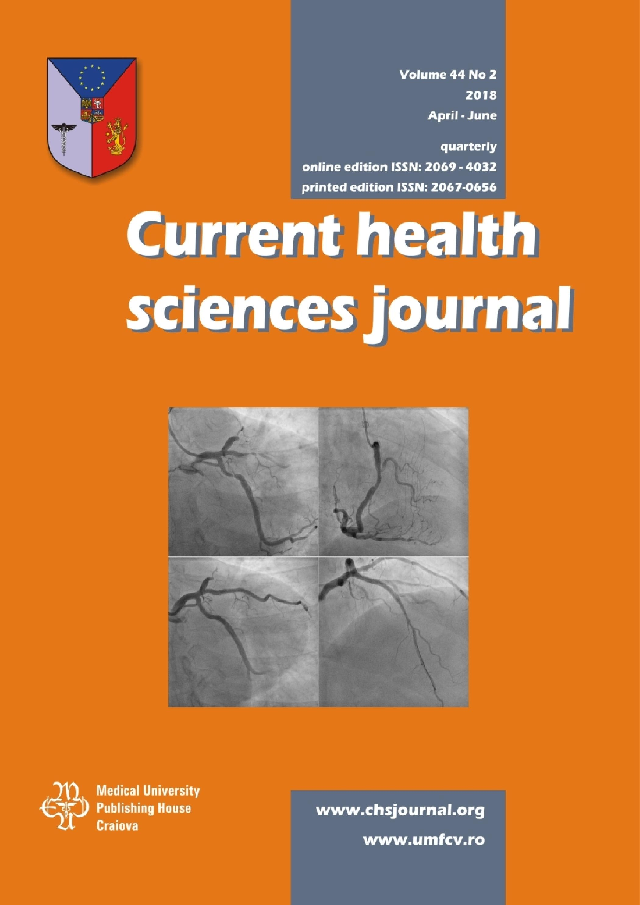 Current Health Sciences Journal, vol. 44 no. 2, 2018